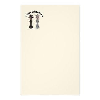 Dog Chess Whisperer Custom Stationery