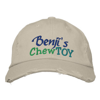 Dog Chew Toy Cap by SRF Embroidered Hats