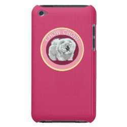 Case-Mate iPod Touch Barely There Case with Chow Chow Phone Cases design