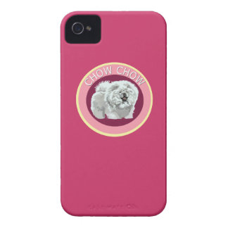 Dog chow chow iPhone 4 cover
