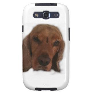 Dog cinnamon Samsung Galaxy Cases