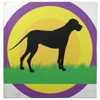 Dog Circles Napkins