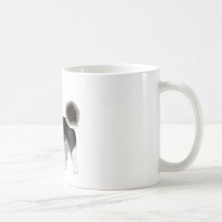 dog classic white coffee mug