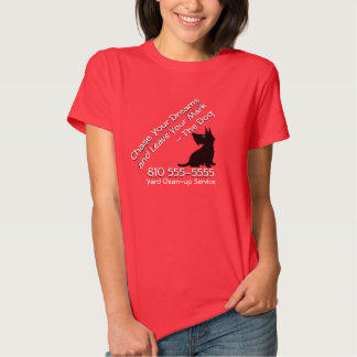 Dog Clean-up Service Shirt