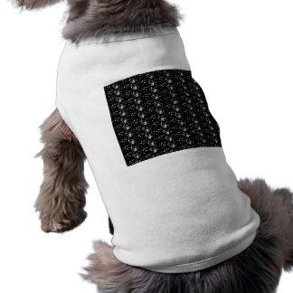 Dog Clothing Black Glitter