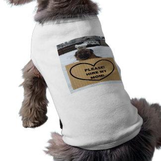 Dog Clothing German Shepherd Please Hire My Mom