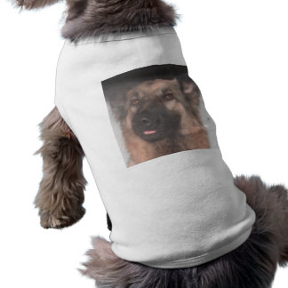 Dog Clothing German Shepherd Sticking Tongue Out