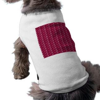 Dog Clothing Maroon Glitter