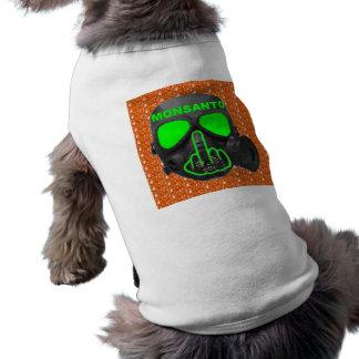 Dog Clothing Monsanto Gas Mask Flip