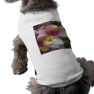 Dog Clothing Pink Lily  Beauty