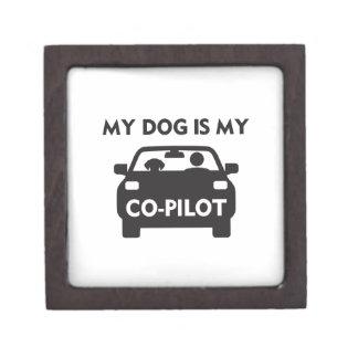 Dog Co-Pilot Keepsake Box