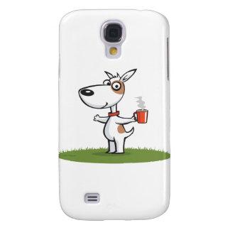 Dog Coffee Galaxy S4 Case