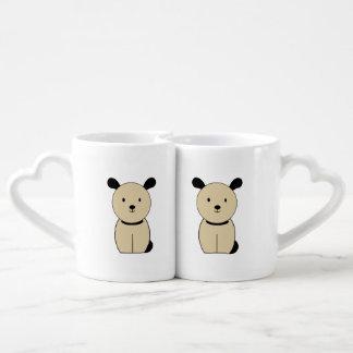 dog coffee mug set
