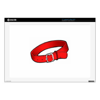"""Dog Collar Decals For 17"""" Laptops"""