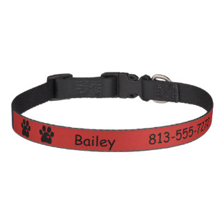 Dog Collar Personalize Dog's Name and Phone Number