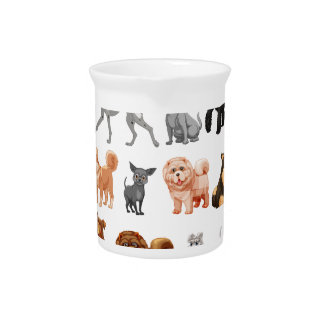 Dog collection pitcher