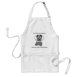 Dog Cone Adult Apron