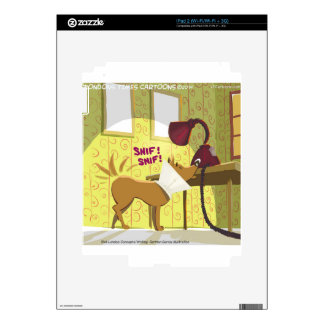 Dog Conehead Funny Skins For The iPad 2