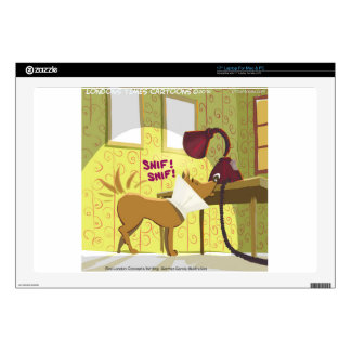 Dog Conehead Funny Skins For Laptops