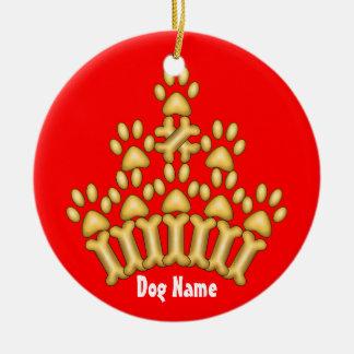Dog Crown Ceramic Ornament