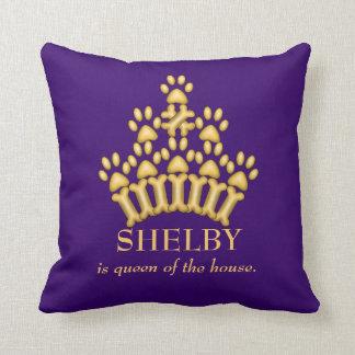 Dog Crown Pillows