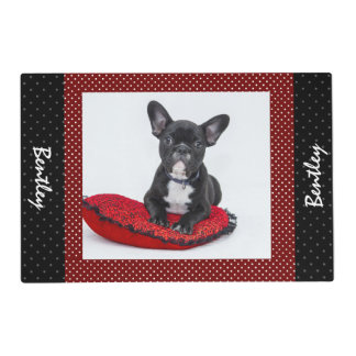 Dog Custom Photo Name Placemat