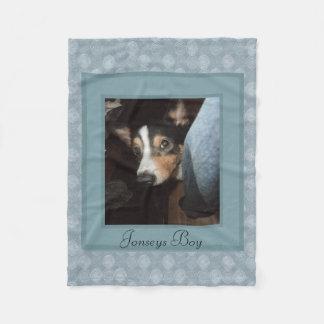 Dog Customizable Pet Photo Fleece Blanket