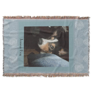 Dog Customizable Pet Photo Throw Blanket
