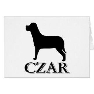 Dog Czar Greeting Cards