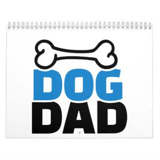 Dog dad calendar