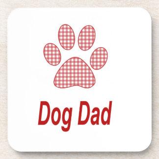 Dog Dad Cork Coasters