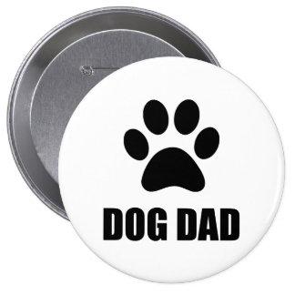 Dog Dad Paw Button