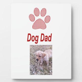 Dog Dad Display Plaque