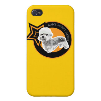 Dog Dandie Dinmont Terrier Cases For iPhone 4