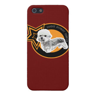 Dog DANDIE DINMONT TERRIER Cover For iPhone SE/5/5s