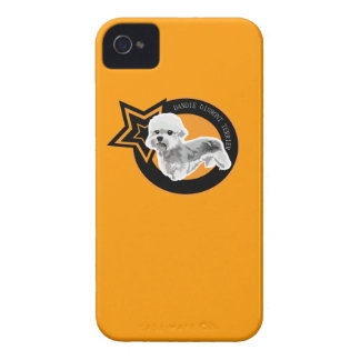 Dog Dandie Dinmont Terrier iPhone 4 Case