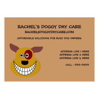 Dog Day Care Customizable Business Card Templates