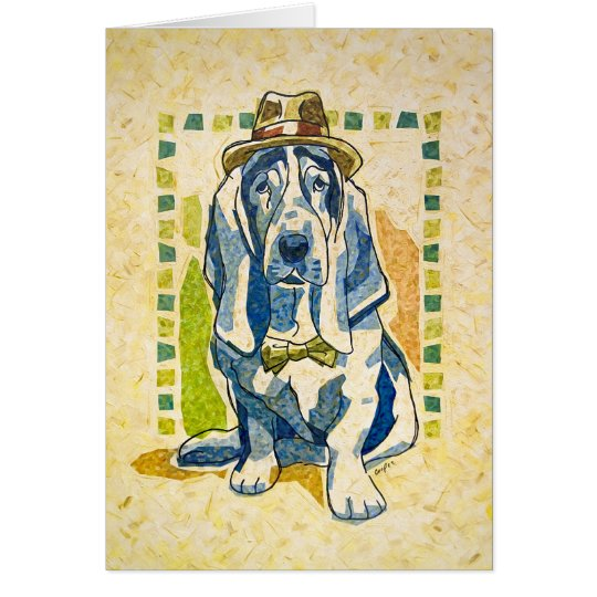 """Dog Day Gone By"" Card"