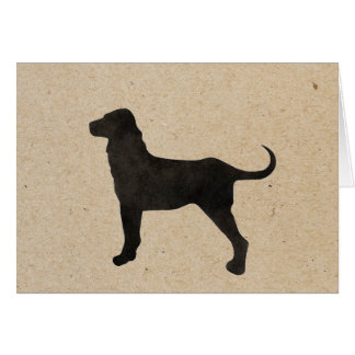 dog day stamped card