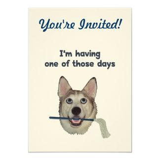 Dog Days Humor Card