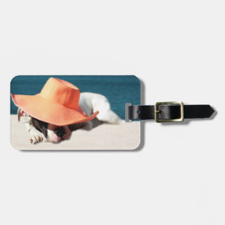 Dog Days of Summer at the Seashore Luggage Tag