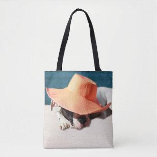 Dog Days of Summer at the Seashore Tote Bag