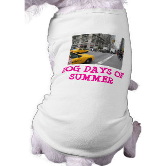 Dog Days Of Summer - Dog T- Shirt