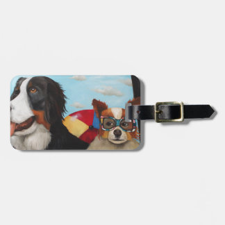 Dog Days Of Summer Luggage Tags