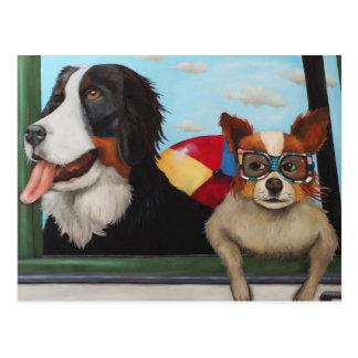 Dog Days Of Summer Postcards
