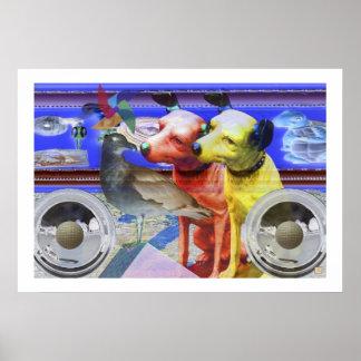 Dog Days-Print Poster