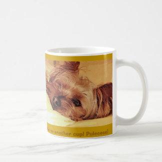 dog daze classic white coffee mug