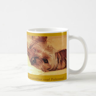 dog daze coffee mug