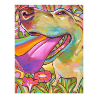 Dog Daze of Summer Letterhead Template