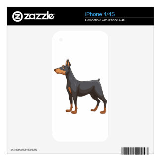 Dog Decals For iPhone 4